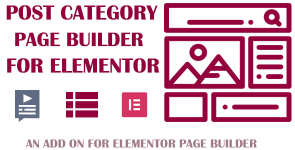 Customize Post Category for Elementor Page Builder