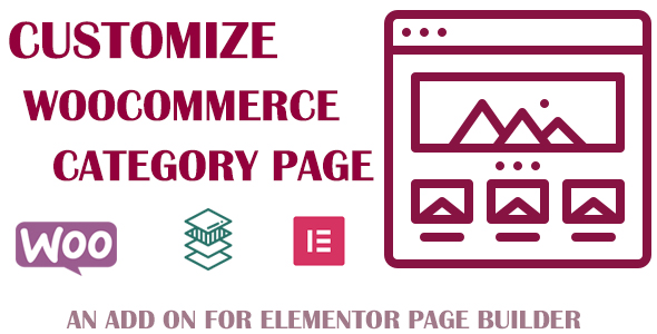 Customize Product Category For Elementor Page Builder