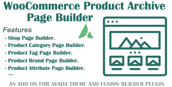 Customize WooCommerce Archive Product page for Avada and Fusion Builder